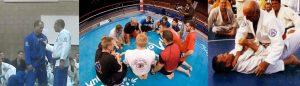 gracie brazilian jiu-jitsu in the ring in ct